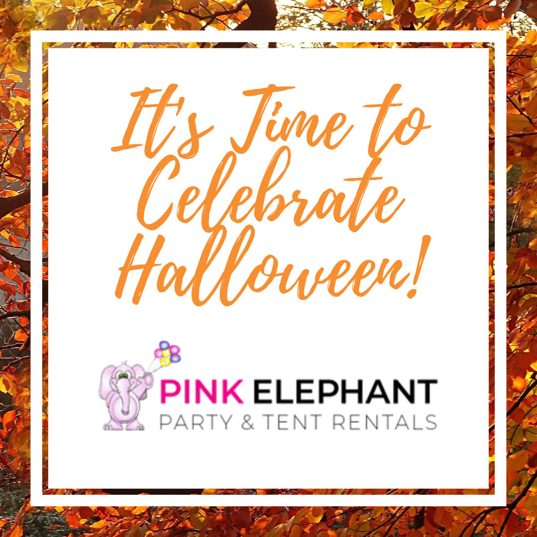Time to Celebrate Halloween with Pink Elephant Rentals
