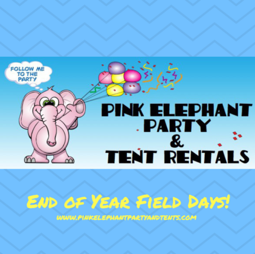 Pink Elephant Party & Tent Rentals for Field Days